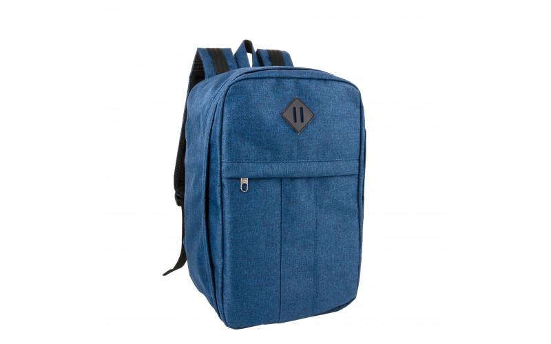 Рюкзак для ручной клади 40х20х25 «Премиум» | SkyBag FB-2002R Blue
