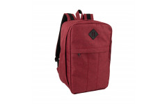 Рюкзак для ручной клади 40х30х20 «Премиум» | SkyBag FB-2003W Bordo